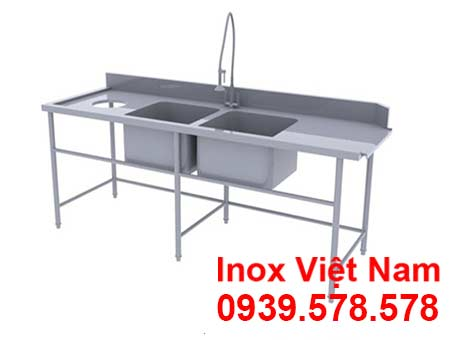 chau-rua-inox-doi-bat-ban-co-lo-xa-rac-cr19013