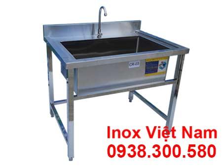Chậu Rửa Inox 304 Đơn Loại Lớn CR-03