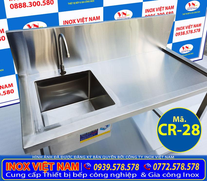 Báo giá bồn rửa chén inox 304, chậu rửa công nghiệp tại TPHCM.